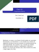 Clase 5 Componentes Basicos