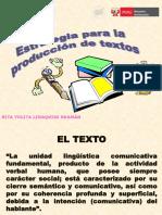 estrategias para la producción de textos
