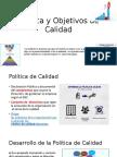 Política y Objetivos de Calidad 2017