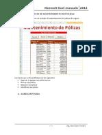 Sesión 15 Formularios - Mantenimiento