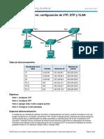2.1.4.5 Lab - Configure Extended VLANs%2c VTP%2c and DTP