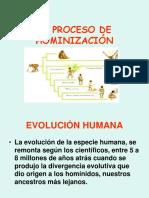 El Proceso de Hominizacion Claudia Retamal