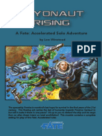 FAE Solo Adventure 2 - Cryonaut Rising