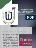 DERECHO CIVIL I Derechos Inmateriales