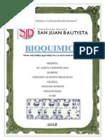 Práctica No 3 Bioquimica