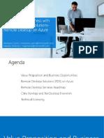 Remote Desktop Solutions on Azure