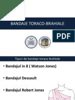 BANDAJE TORACO-BRAHIALE
