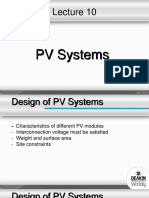 Lecture 10 - PV System