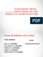 Electromagntic Metal Collector - A project ppt