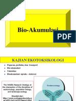 Prinsip Dasar Bioakumulasi