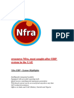 Eresource Nfra, Most Sought-After ERP System in the UAE