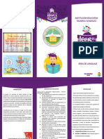 Folleto Plan Lector Inst Ed Ricardo González Valledupar 2018