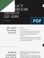 literacy classroom design