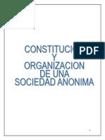Consitucion de Una Sociedad Anonima en El Salvador