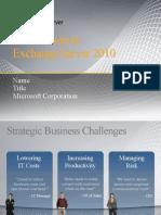E2010 TechDeck Overview SP1