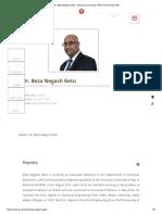 Dr. Beza Negash Getu - American University of Ras Al Khaimah UAE