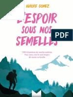 L'Espoir Sous Nos Semelles Extrait PDF