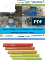 PPT Concrete Lining