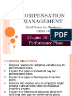 Chapter 10- Pay for Performance Plans.pptx