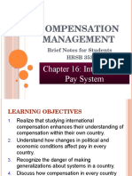 Chapter 16- International Pay System