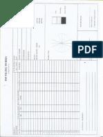 Appendix b Piling Record Form