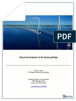 StructuralAnalysis Sutong Bridge