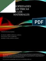 Exposicion de Propiedades Electricas