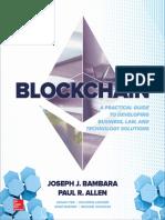 Blockchain_ a Practical Guide - Joseph J. Bambara