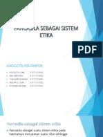 Pancasila Sebagai Sistem Etika Ppt