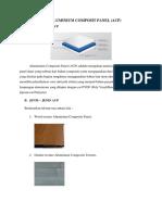 Aluminium Composit Panel (Tekban)