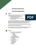 Gestión de Proyecto con Scrum Manager II