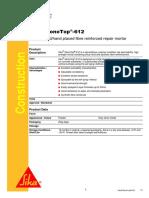 Sika MonoTop 612&620 Data Sheet