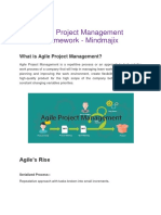 Agile Project Management Framework