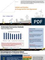 Indonesian Energy Outlook and Priorities in Achieving Equitable Energy and the Paris Agreement