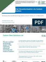 Profitable Industrial Decarbonisation via Carbon Capture and Utilisation