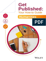 Get Published - Your How-To Guide Humanities
