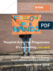 It's Something You Said - Hospital activities Programme Apr - Jun 2018