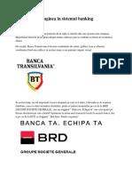 Imaginea in Sistemul Banking