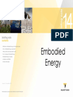14 - Embodied Energy