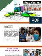 Epidemiología en Desastres