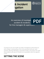 Accident & Incident Investigation