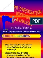 Accident Investigation Reporting and Analysis