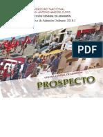 Prospecto2018 I