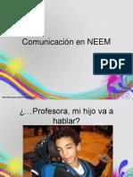 Comunicacion NEEM
