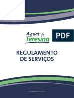 Regulamento Águas de Teresina