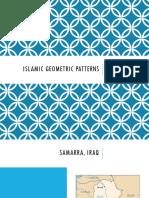 Samarra Geometric Patterns
