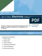 Physics Electrostatics lecture slide