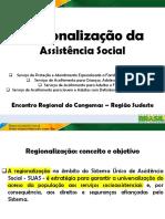 Regionalização Dos Serviços Da PSE - Congemas