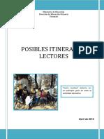 Itinerario Lector Documento (1)
