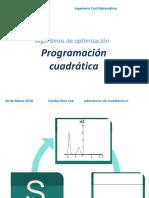 Algoritmos de Optimización - Modificaciones